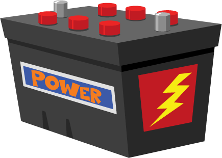 What is a battery service on a car