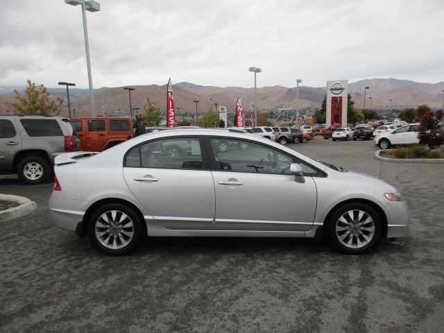 2010 Honda Civic Sdn EX-LFront Wheel Drive Power Steering 4-Wheel Disc Brakes Aluminum Wheels