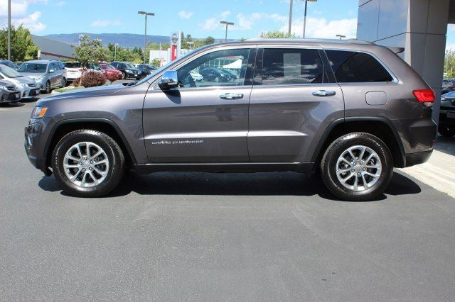 2015 Jeep Grand Cherokee LimitedAdditional Options  TRANSMISSION 8-SPEED AUTOMATIC 845RE S