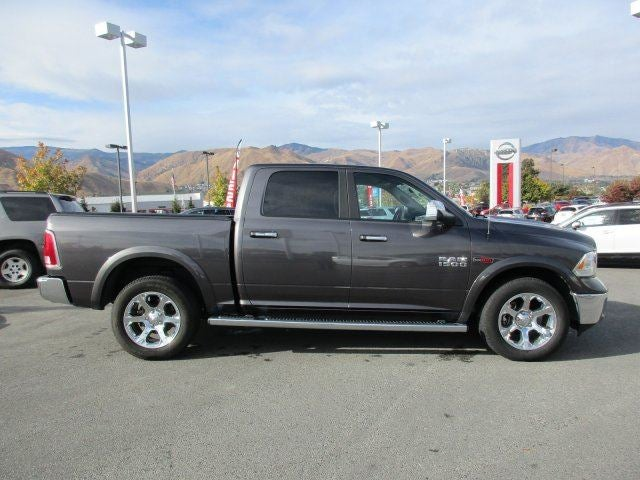 2015 Ram 1500 LaramieFour Wheel Drive Tow Hitch Power Steering ABS 4-Wheel Disc Brakes Brake