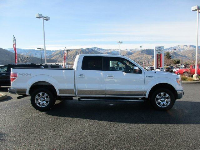 2012 Ford F-150 LARIATFour Wheel Drive Tow Hitch Tow Hooks Power Steering 4-Wheel Disc Brakes