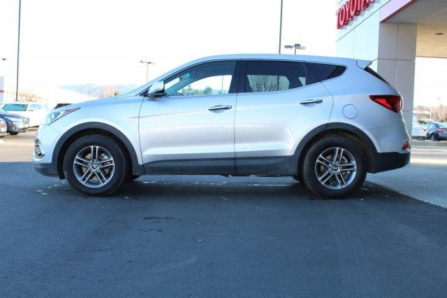 2017 Hyundai Santa Fe Sport 24LAdditional Options  GRAY LEATHER SEATING SURFACES  SPARKLING