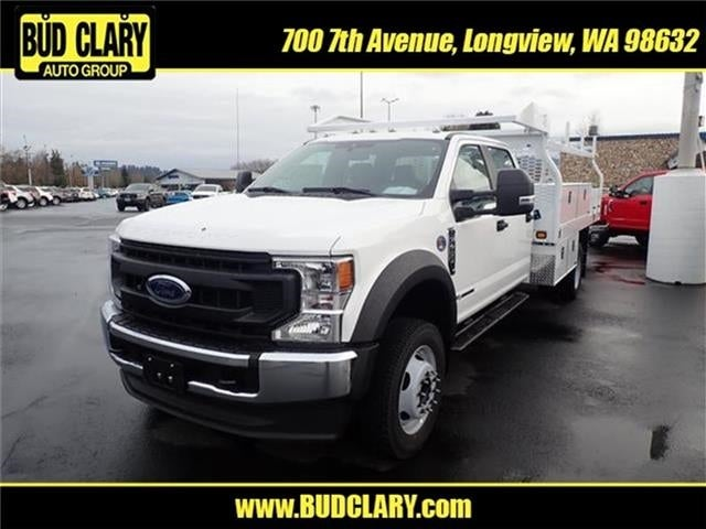 2020 Ford F-450 Crew Cab DRW 4x4, Knapheide Contractor Body #LF20009 - photo 1