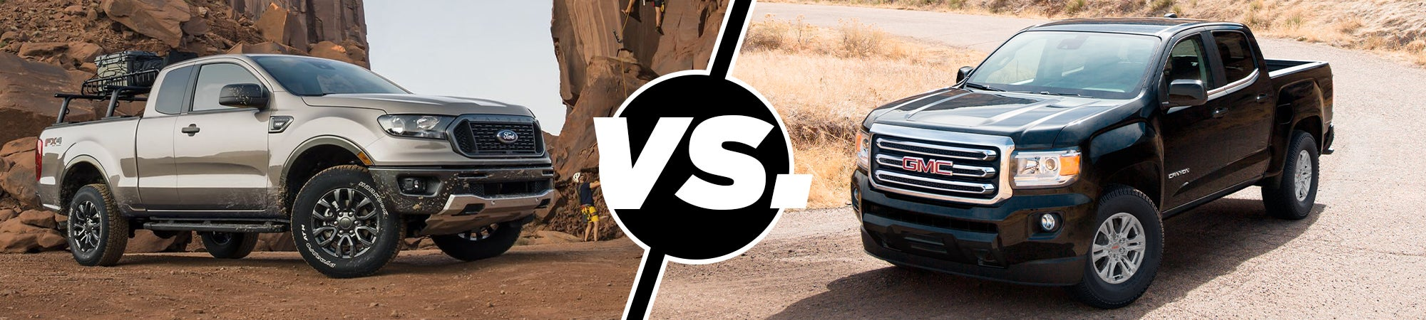 2019 Ford Ranger XL Vs  2019 GMC Canyon SL | Western Slope Ford