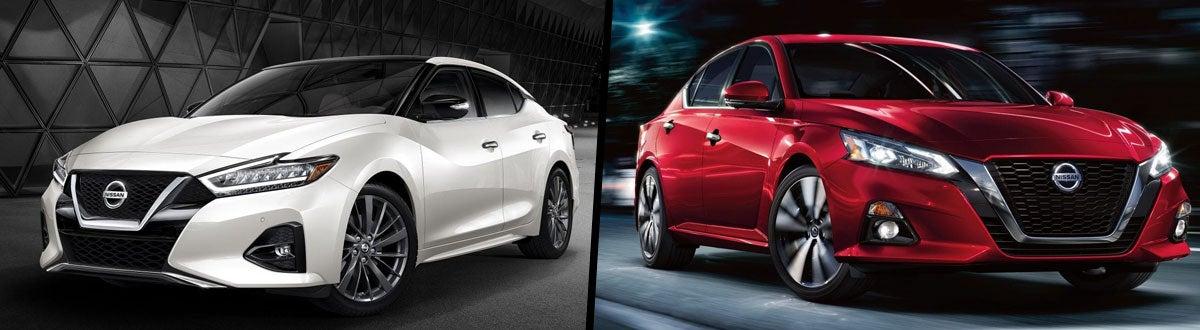 Altima Vs Maxima >> Compare 2019 Nissan Altima Vs 2019 Nissan Maxima Bend Or