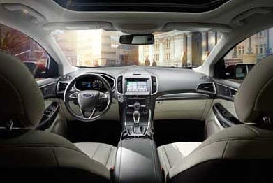 2018 Ford Edge Interior Plainfield IN | Andy Mohr Ford