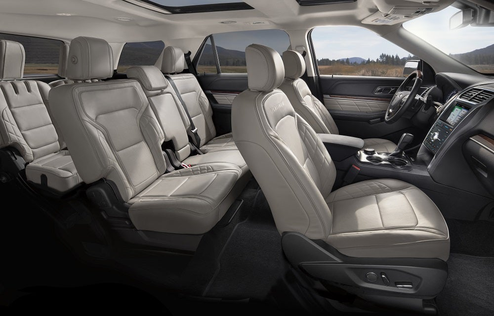 Ford Explorer Interior Safety