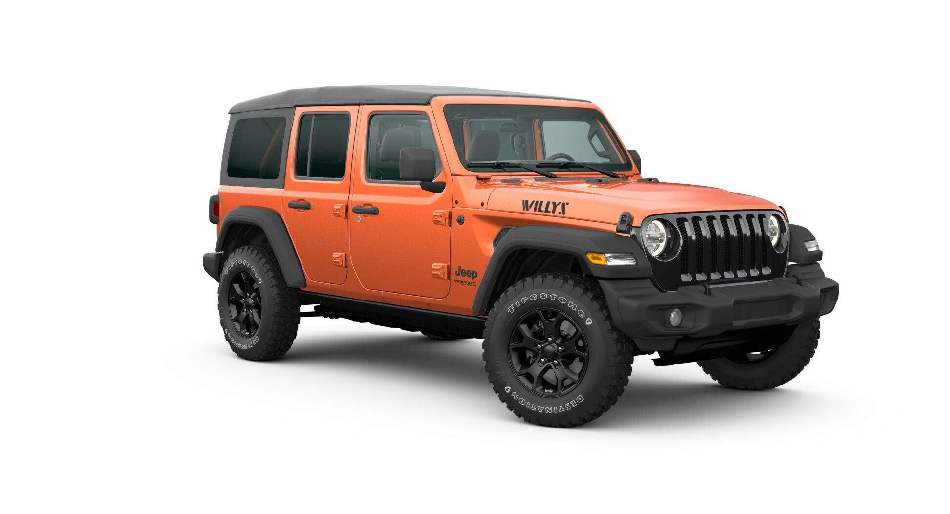 2020 Jeep Wrangler Trim Options Explained Rubicon Unlimited Sahara