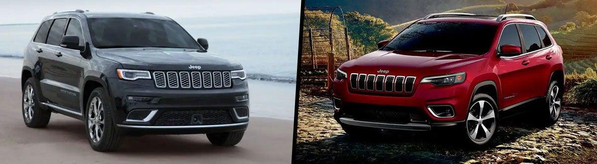 2019 Jeep Grand Cherokee vs 2019 Jeep Cherokee Comparison ...
