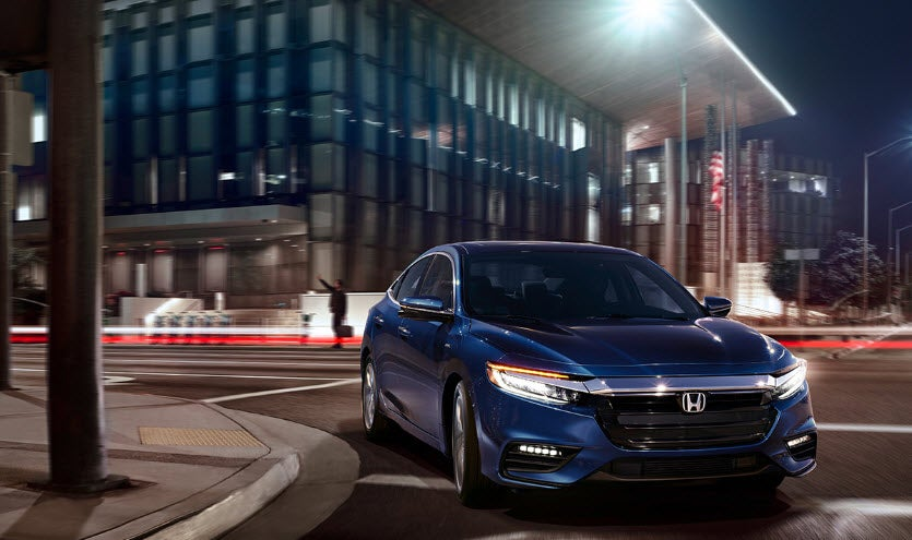 Honda Insight Vs Ford Fusion Design 2019 Blue