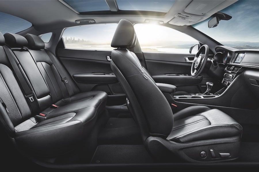 2018 Kia Optima Interior