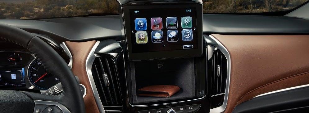 Chevy Traverse Interior Feldman Chevrolet Of Lansing Mi