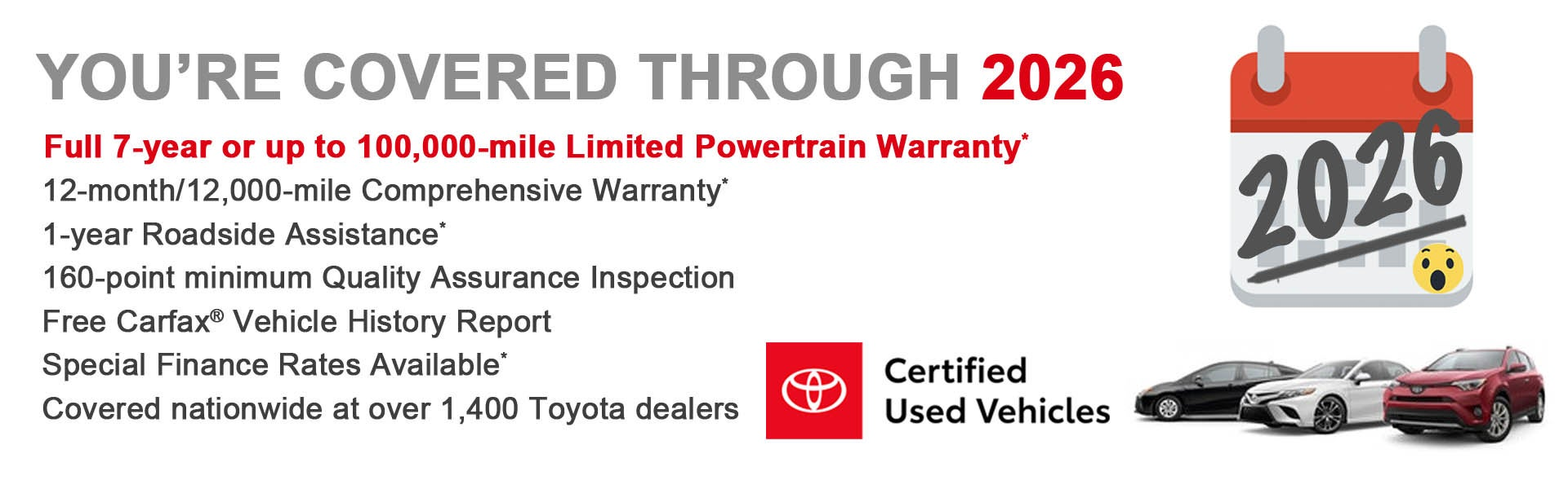 Used Cars Dartmouth >> Toyota Certified Used Car Warranty And Benefits Toyota