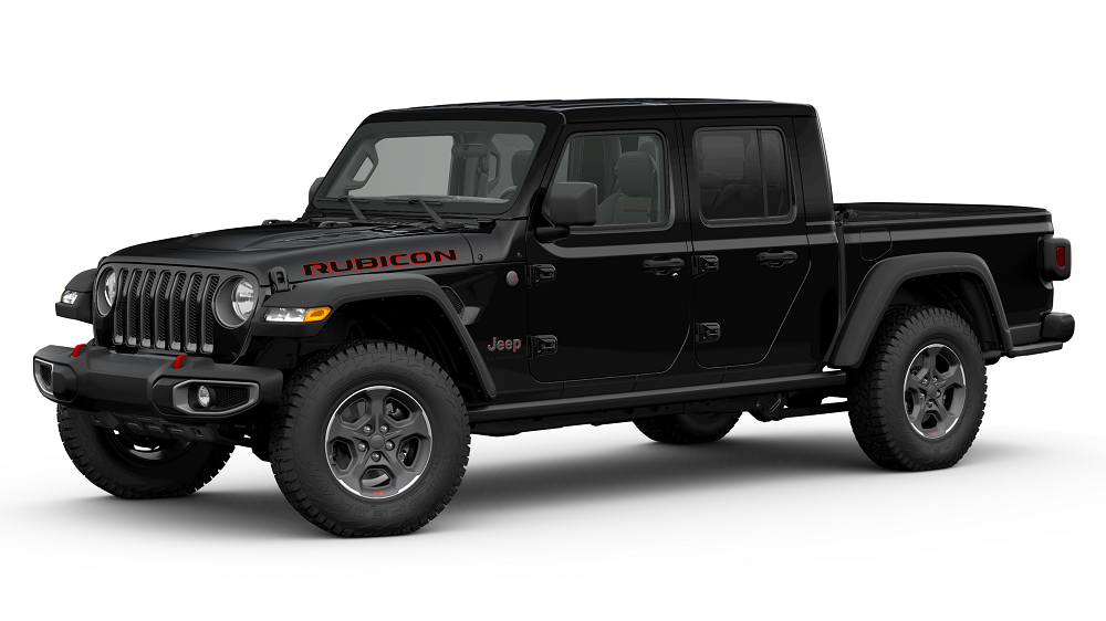 2020 Jeep Gladiator Black Clear Coat