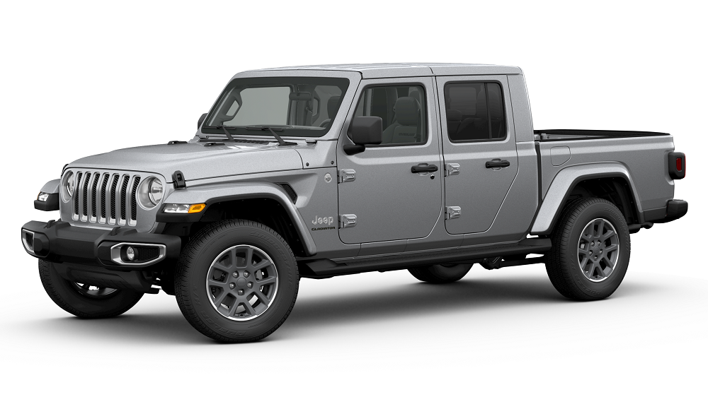 2020 Jeep Gladiator Billet Silver