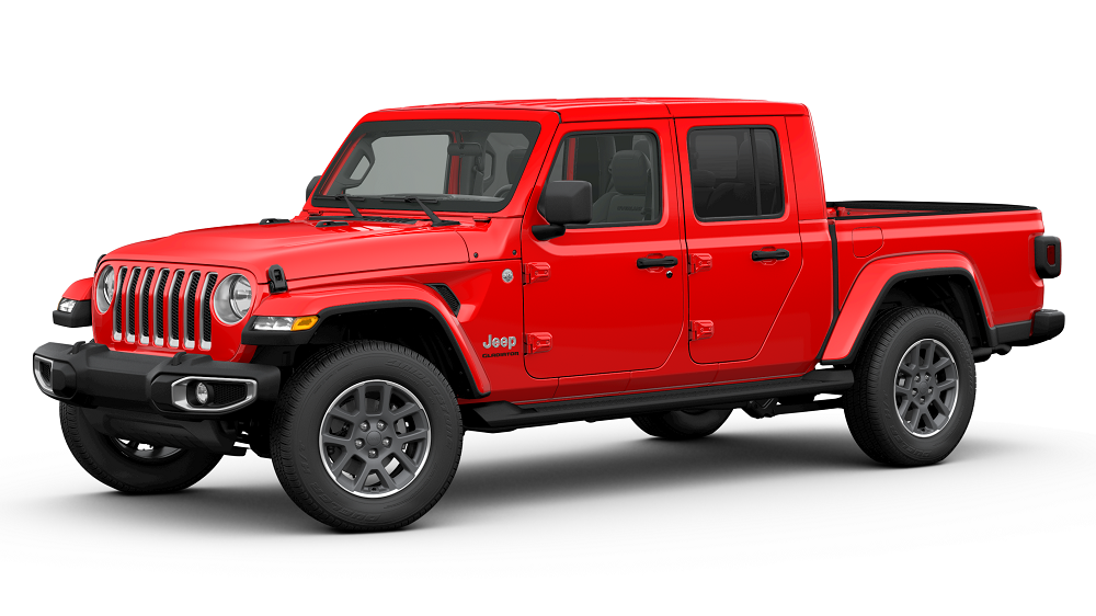 2020 Jeep Gladiator Firecracker Red