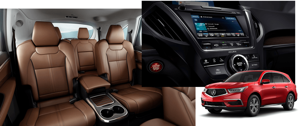 Acura Mdx Interior >> The 2019 Acura Mdx Near Fort Myers Fl