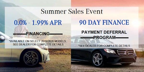 Mercedes-Benz National Offers | Mercedes-Benz of Daytona