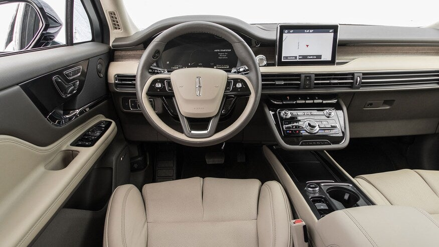 2020 Lincoln Corsair luxurious interior seating with driver profiles