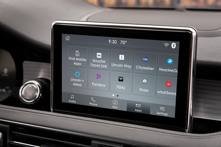 2020 Lincoln Corsair Infotainment Connectivity Features