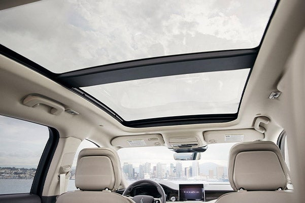 The New 2020 Lincoln Corsair panoramic vista roof