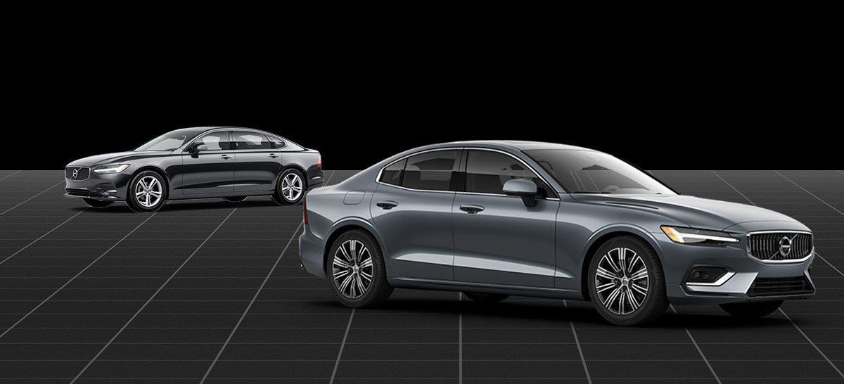 Compare the 2020 Volvo s60 and s90