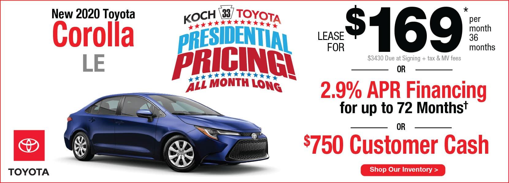 Koch 33 Lease Offers