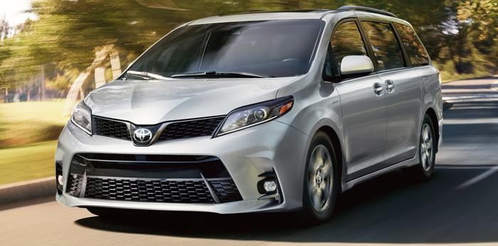 Get 2020 Toyota Sienna Se Interior