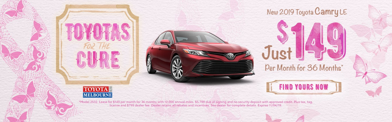 New Toyota Lease Specials Melbourne Fl