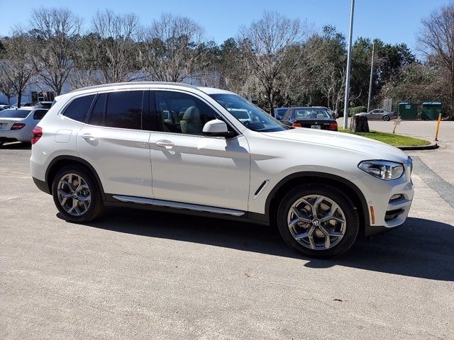 new 2021 BMW X3 car, priced at $50,245