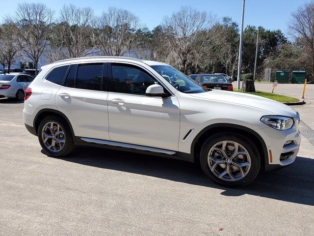 new 2021 BMW X3 car, priced at $48,795