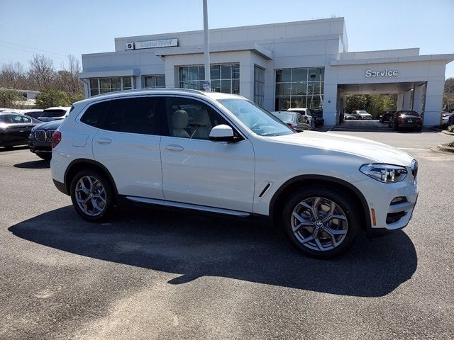 new 2021 BMW X3 car, priced at $53,745