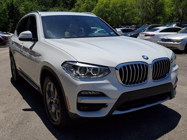 new 2021 BMW X3 car, priced at $48,420