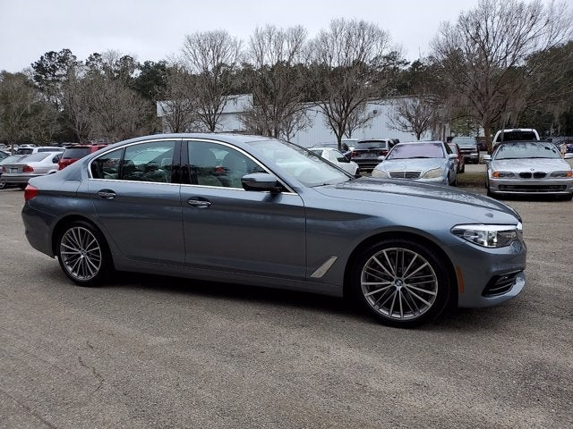 used 2018 BMW 5-Series car, priced at $34,484