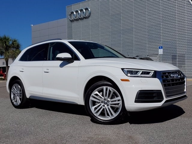 used 2020 Audi Q5 car, priced at $43,495