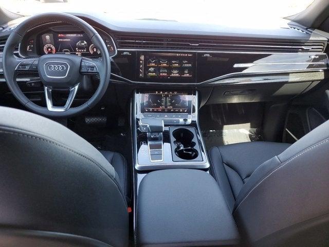 new 2020 Audi Q8 car, priced at $77,250