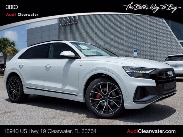 new 2020 Audi Q8 car, priced at $93,380