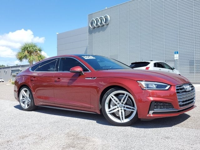 used 2018 Audi A5 Sportback car, priced at $34,655