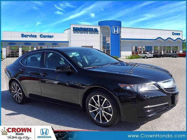used 2016 Acura TLX car, priced at $21,791