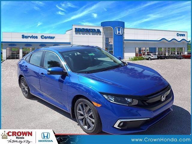 new 2021 Honda Civic car, priced at $25,155