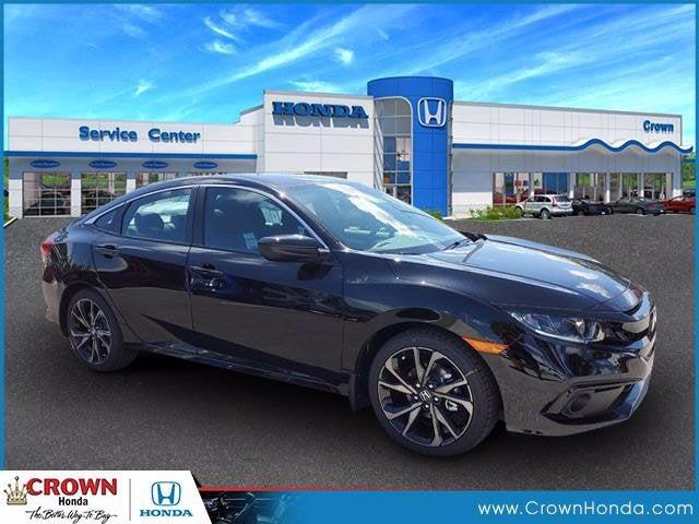 new 2020 Honda Civic car, priced at $22,268