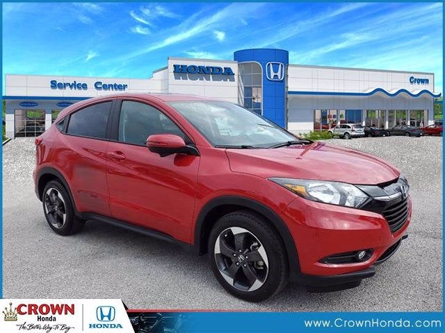 used 2018 Honda HR-V car, priced at $17,291