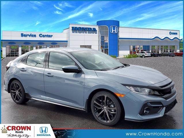 new 2021 Honda Civic Hatchback car, priced at $24,709