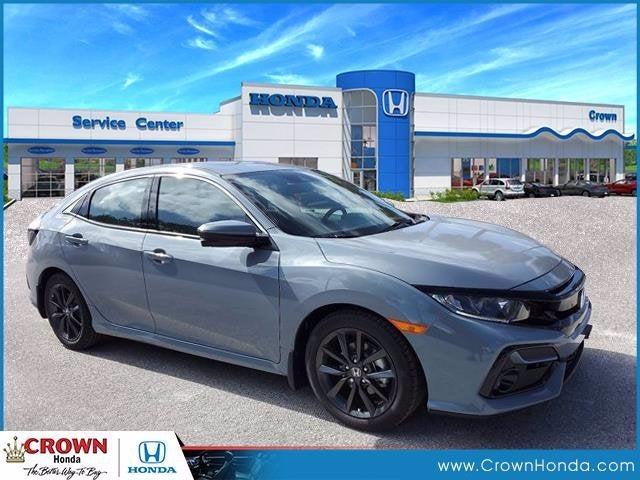 new 2021 Honda Civic Hatchback car, priced at $25,285