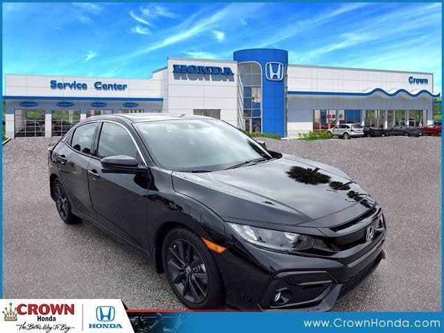 new 2021 Honda Civic Hatchback car, priced at $25,455