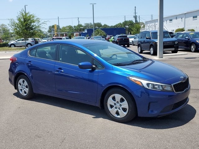 used 2018 Kia Forte car, priced at $13,495
