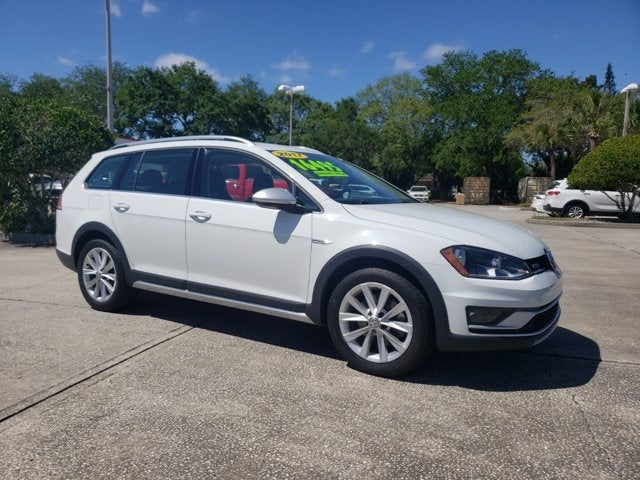 used 2017 Volkswagen Golf Alltrack car, priced at $16,294
