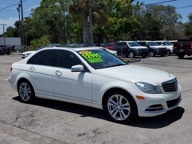 used 2014 Mercedes-Benz C-Class car, priced at $12,995