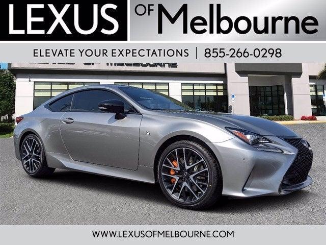 used 2018 Lexus RC car, priced at $39,987