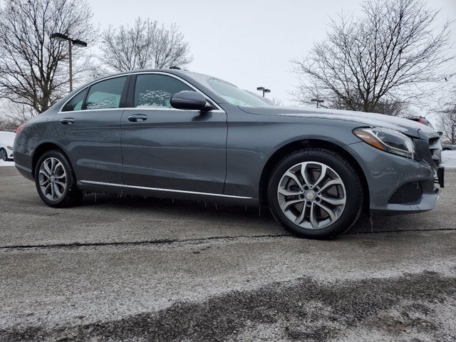 used 2017 Mercedes-Benz C-Class car, priced at $24,991